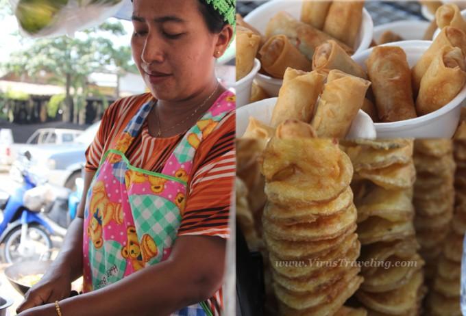 Jajanan Potato Twist di Ao Nang Krabi