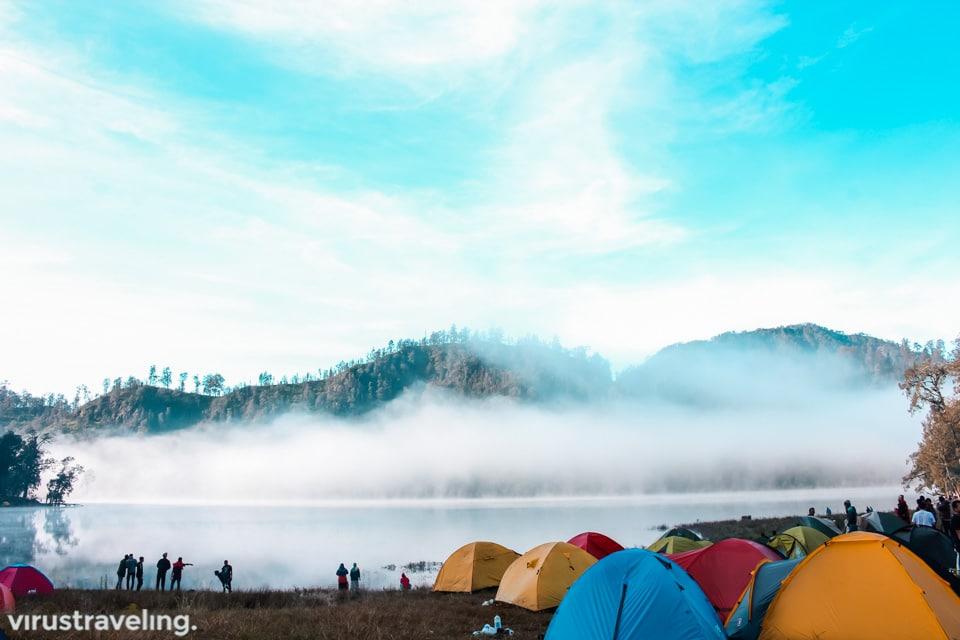 Danau Ranu Kumbolo, Gunung Semeru
