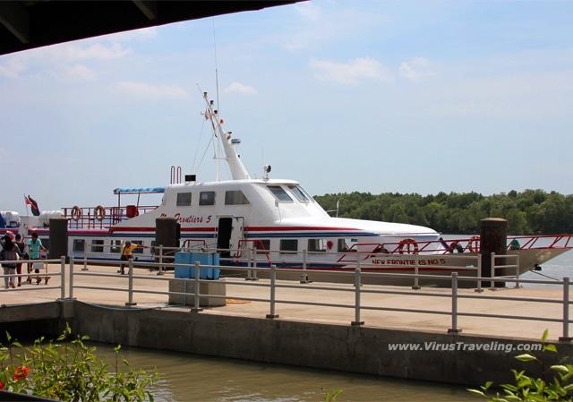 Ferry dari Satun menuju Langkawi