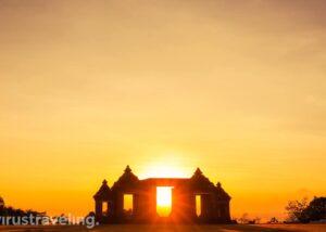 Wisata Jogja Sunset Candi Ratu Boko