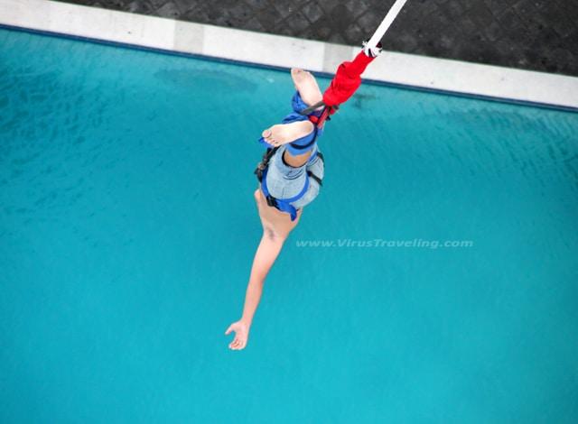 bungee jumping bali