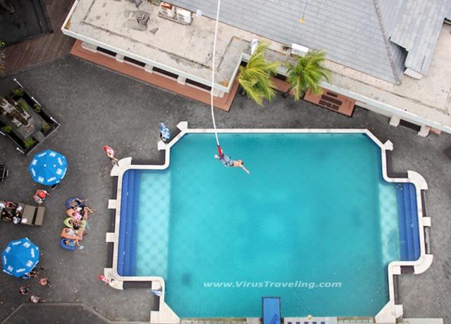 virustraveling bungee jumping bali