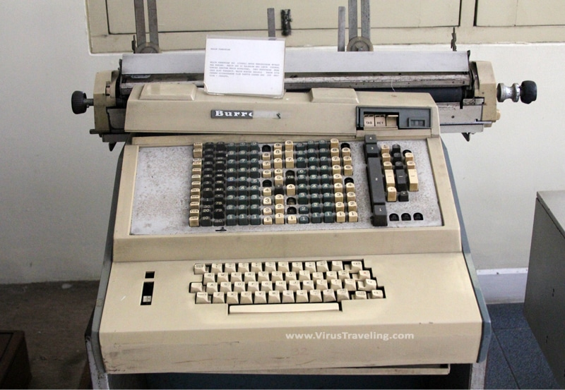 Mesin Pembukuan BRI tahun 1974