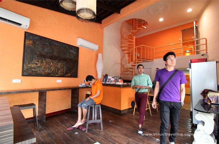 Lobby Hotel Budget Inn Bukit Bintang