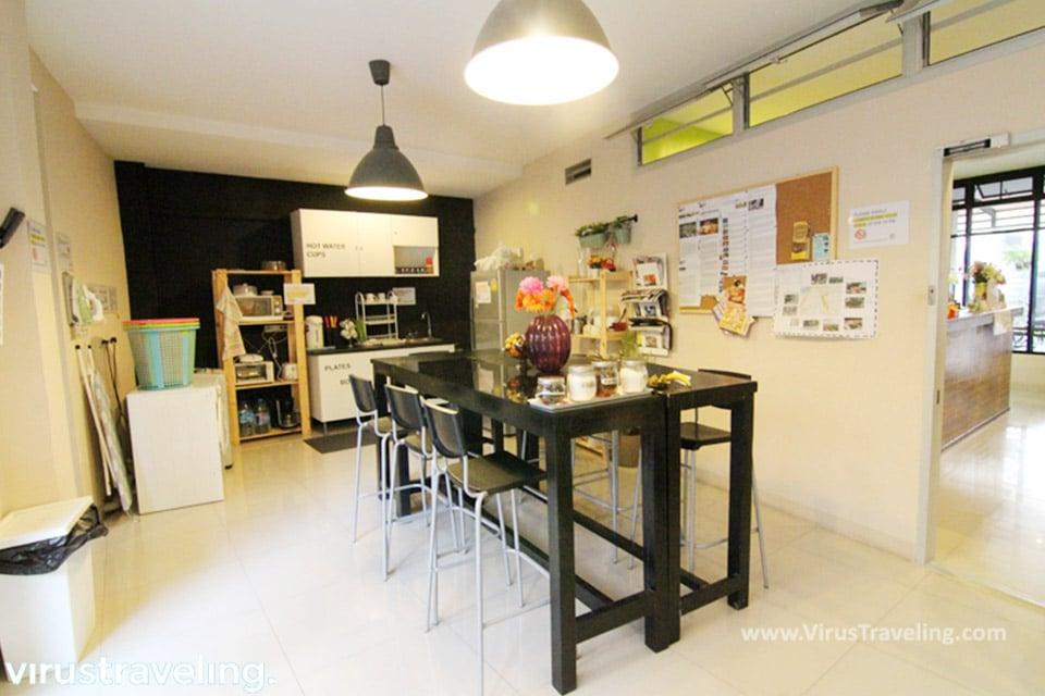 Dapur Hostel di Bangkok