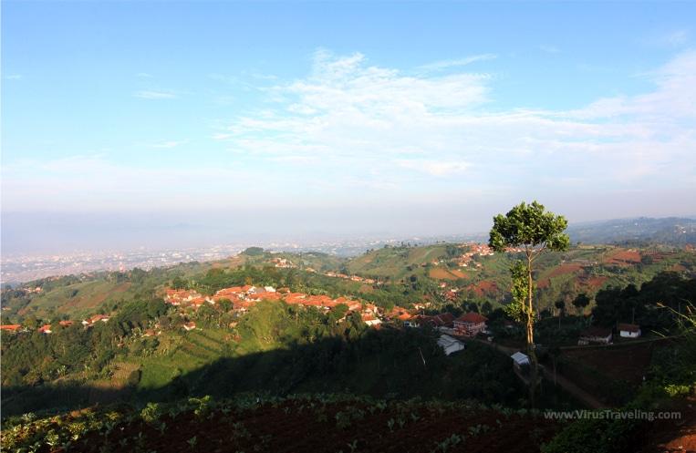 Kota Bandung dari Bukit Moko
