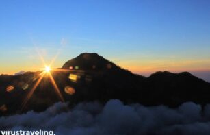 Sunrise di Puncak Rinjani 3726mdpl
