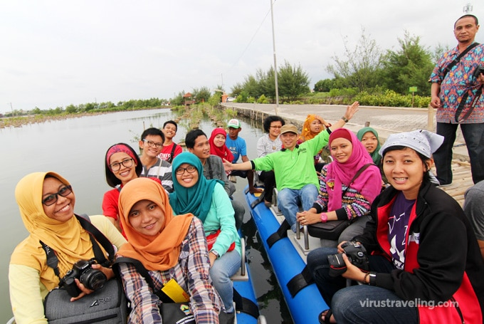 Travel Blogger Indonesia Wisata di Pekalongan Mangrove Park