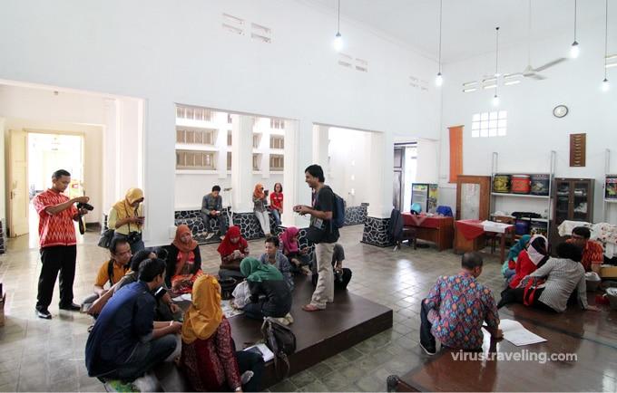 Suasana Workshop Membatik di Museum Batik Pekalongan