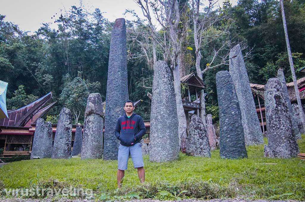 Batu Menhir Bori Tana Toraja