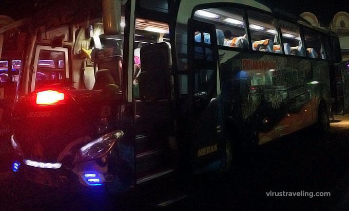 Bus Makassar Toraja