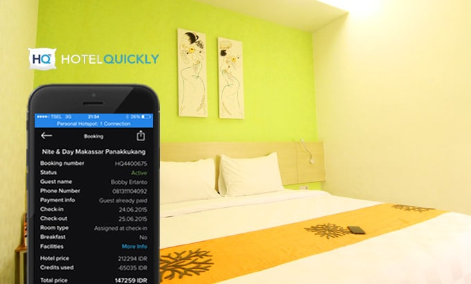 Booking Hotel Quickly