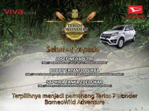 pemenang-terios-7-wonders-2015