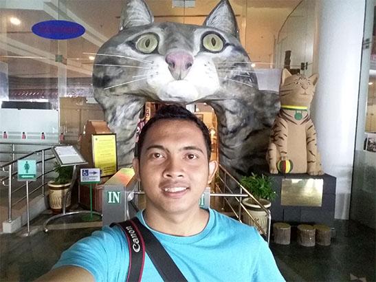 Hasil Jepretan Kamera Samsung di Museum Kuching