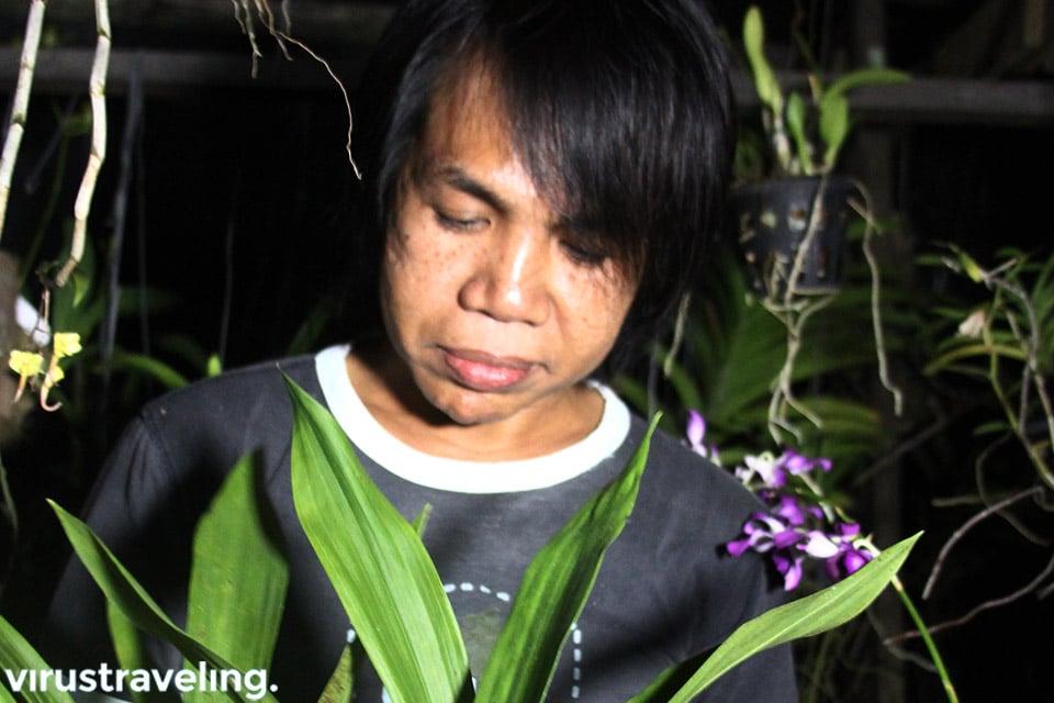 Dedy Adriady Pecinta Anggrek Kalimantan
