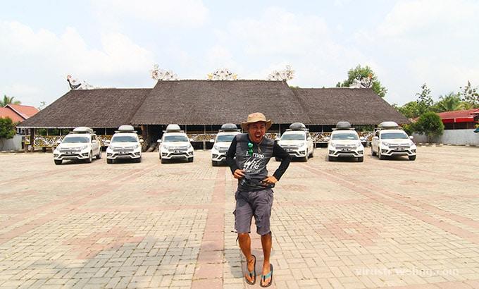 Cumilebay di Desa Budaya Pampang