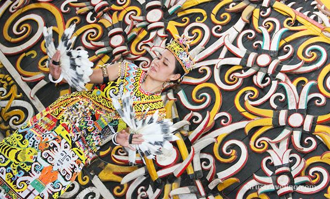 Tari Kanjet Lasan Desa Budaya Pampang