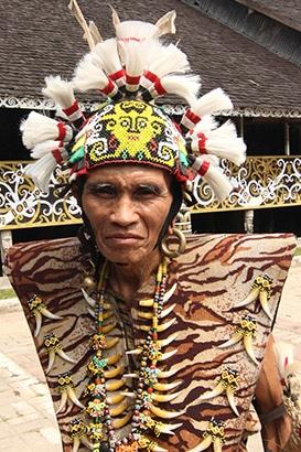 Ketua Balai Desa Budaya Pampang