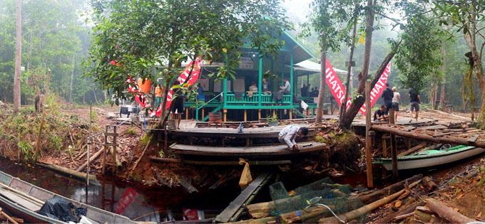 Terios 7 Wonders Basecamp WWF di Taman Sebangau