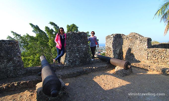 Meriam di Benteng Keraton Buton
