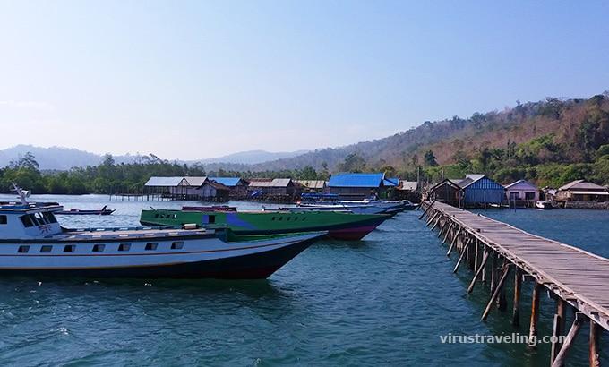 Pelabuhan Amulengo Kendari