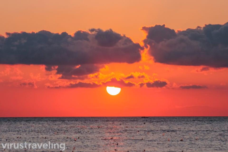 Sunset Pantai Tablolong Kupang yang aduhai