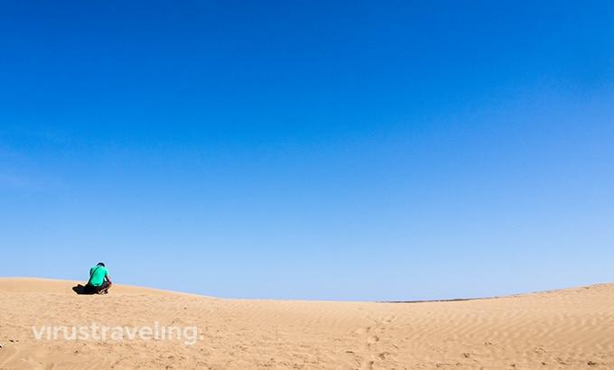 Gumuk Pasir di Pantai Oetune NTT