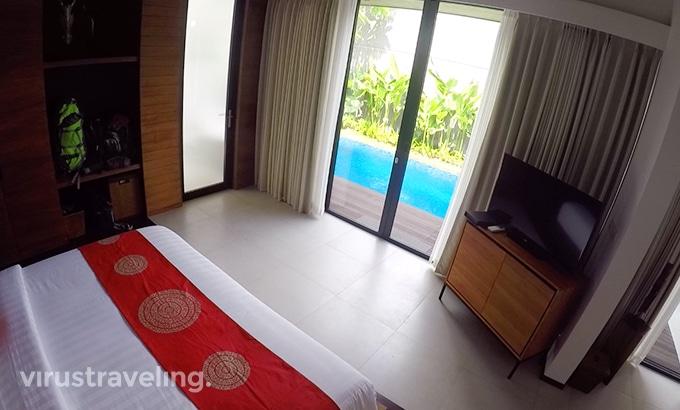 Abia Villa Legian Bedroom