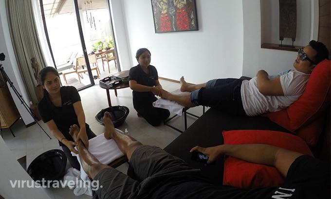Abia Villa Legian Foot Massage
