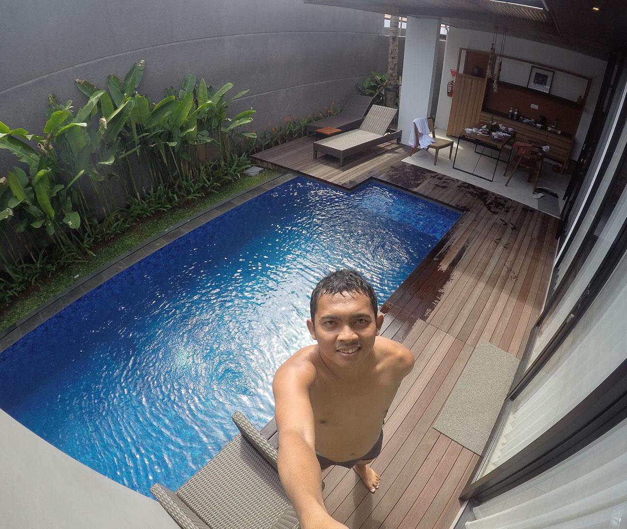 Private pool Abia Villa Legian