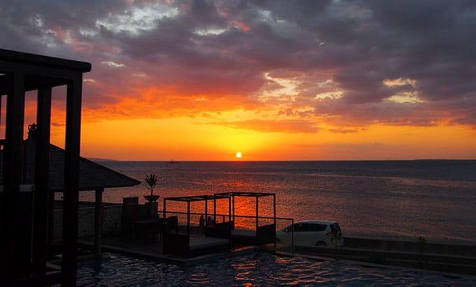 Sunset di Kupang