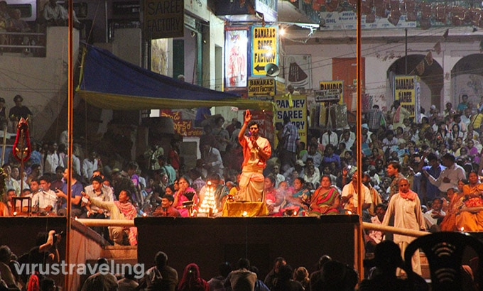 Varanasi Night Pooja Ceremony