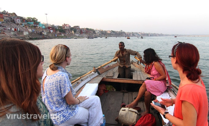 Sunset Boat Ride Varanasi
