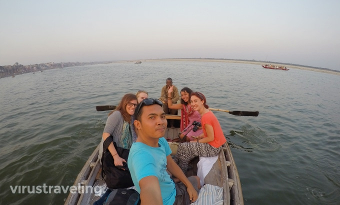 Varanasi Sunset Boat Ride Gangga