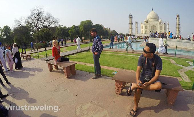 virustraveling Taj Mahal