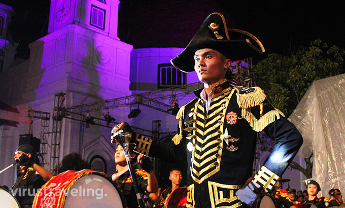 Mayoret Semarang Night Carnival