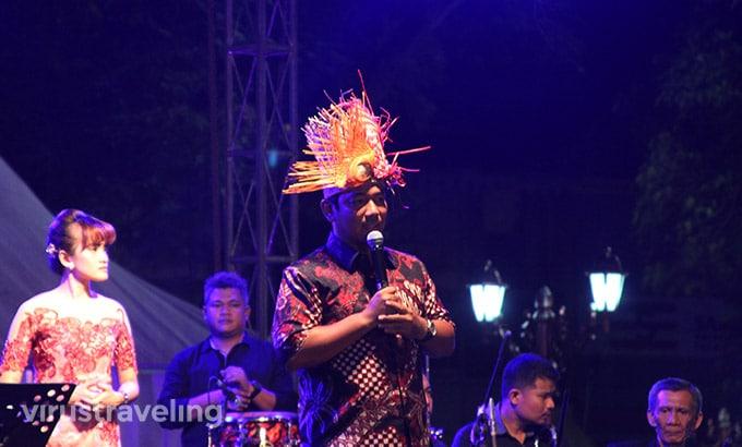 Walikota di Semarang Night Carnival