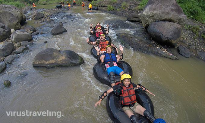 Tubing Kali Kreo virustraveling