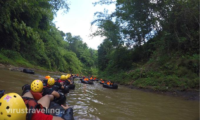 River Tubing di Kali Kreo Desa Wisata Kandri
