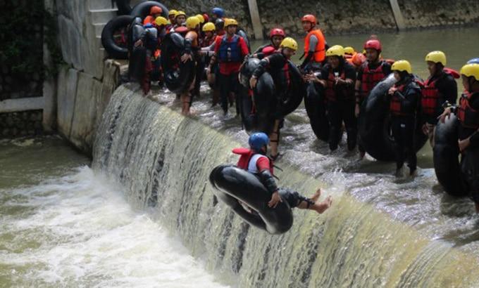 River Tubing di Kali Kreo Semarang