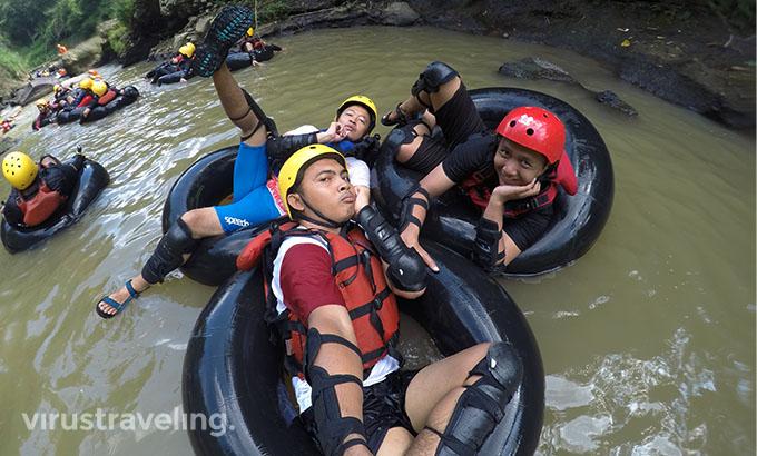 River Tubing Kali Kreo Semarang