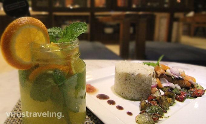 Menu Rustik Bistro Bar Harper Kuta Hotel Bali