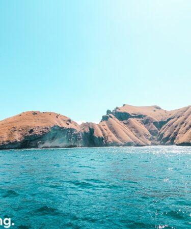 Gugusan pulau-pulau cantik saat ke Pulau Padar