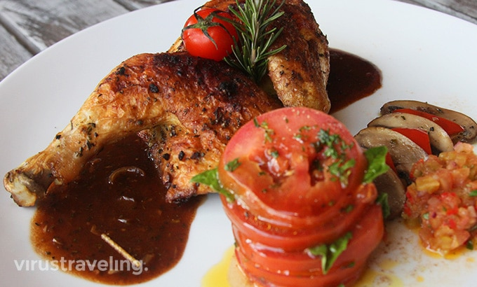 The One Legian Baked Chicken Tomato