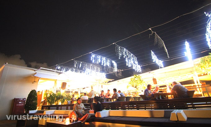 The One Legian Sky Bar Lounge