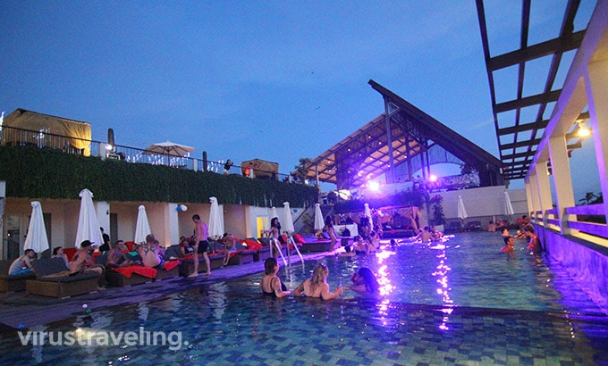 The One Legian Sky Pool Party