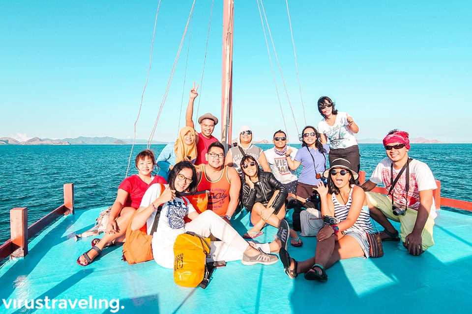 Travel Blogger Indonesia di Pulau Padar