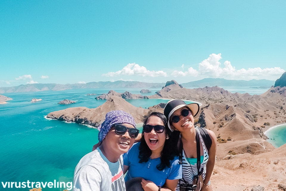 virustraveling ceritaeka satyawinnie di pulau padar