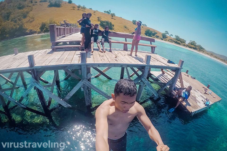 Dermaga Pulau Sabolo virustraveling