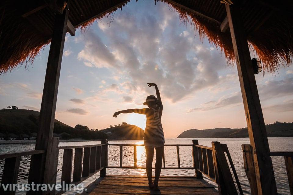 Sunset Pulau Seraya